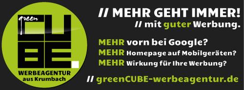 greenCUBE Werbeagentur Krumbach